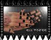 :S: Pvc Rings Blk Nails