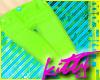 +Hyper Lime Skinnys+
