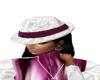 berry n cream hat