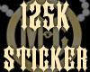 125K Sticker