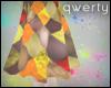 !Q! 1st Patchwork Skirt