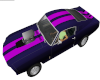 Purple Pink Mustang