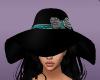 black hat teal