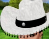 ! COWGIRL HAT WHITE