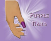 Juli Purple Nails