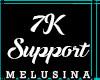7k Support Sticker