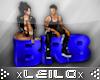 !xLx! BRB Chair Blue