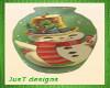 Christmas Vase 3