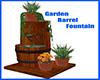 Garden Barrel Fountain