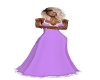 Purple Snow Dress