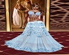 Blue Angelina Gown GA