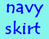navy whites skirt
