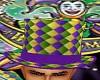 Mardi Gras Top Hat