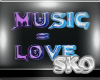 *SK*Music=Love Sign