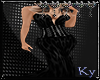 Black Vampiress Gown