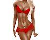 Red Bikini dress