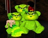 Grinch Teddy Bears