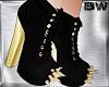 Black Gold Boots Pltfm U