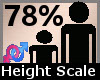 Height Scaler 78% F A