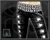 R+ F Rips Pants Blak