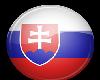 Slovakia Button Sticker