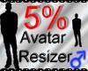 *M* Avatar Scaler 5%