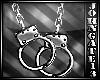 Silver Handcuffs Necklac