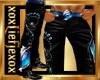 [L] Blue WOLF Pants M