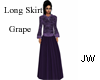 JW Long Skirt Grape