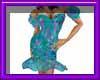 (sm)teal dress