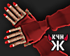 Sexy devil gloves