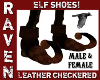 M&F LEATHER ELF SHOES!