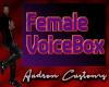 Female Voicebox