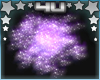 Purple Galaxy Cloud Lamp
