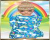 Kids Blue Unicorn Dress