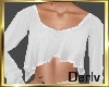 Lena Short Sweater White