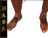 IIRASAII: Wolf Tat Feet