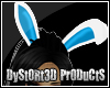 !Meg! Blue Bunny Ears