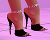 Black Shoes w Anklets
