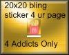 20x20 McD Bling