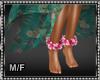 Hawaiian Luau Ankle Leis