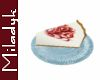 MLK Cheesecake slice