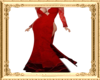 Regal Red Gown