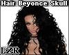 Black Hair Beyonce Skull