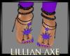 [la] Purple weed feet