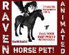 MOTTLED GREY HORSE PET!