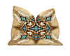 Tan Native Kiss Pillow
