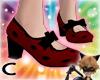 (C) LadyBug Low Heels