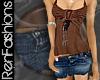 $R Dusk Mini Skirt -Jean