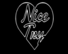 Nice Try Cutout + Black Background
